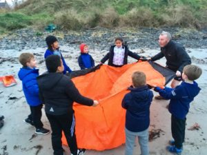 beach activities kids school club north down