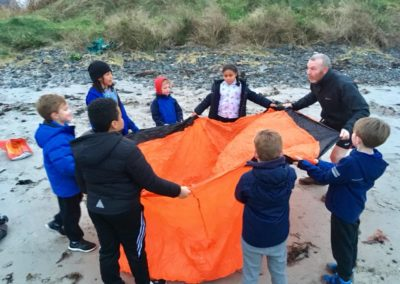 beach activities kids school club north down