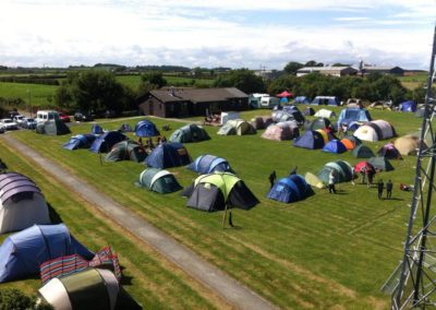 youth group camping county down